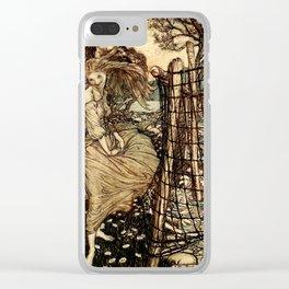 Arthur Rackham - Fouqué - Undine (1909) - Undine by the Water Clear iPhone Case
