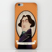 oscar wilde iPhone & iPod Skins featuring Oscar Wilde said... by Mrs Peggotty