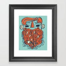 just grow one Framed Art Print
