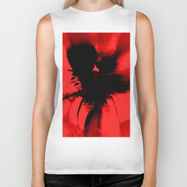 Spring Floral Abstract Biker Tank
