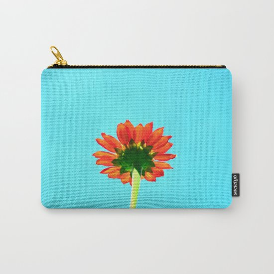 Flower orange 6 Carry-All Pouch