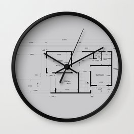the apartment Wall Clock