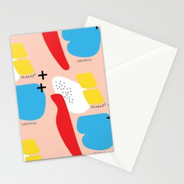 + COLOURS Stationery Cards
