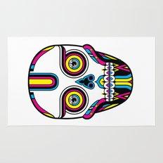 CMYK Skull Rug