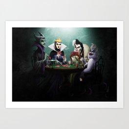 Evil Flush Art Print