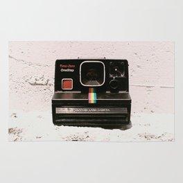 TimeZero OneStep Land Camera, 1981 Rug