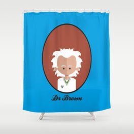 Dr Brown Shower Curtain