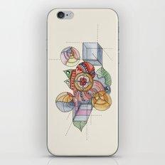 La geometría de las flores iPhone & iPod Skin