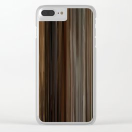 Pulp Fiction Movie Barcode Clear iPhone Case