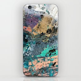 01011: colorful, abstract, wild, and unique iPhone Skin