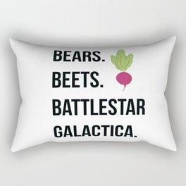 Bears Beets Battlestar Galactica Rectangular Pillow