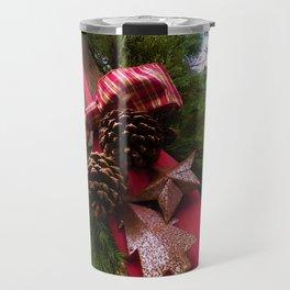 Christmastime Decor Travel Mug