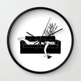 Bad Day Wall Clock