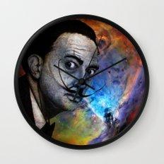 Salvador Dalí. (colored version) Wall Clock