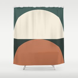 Abstract Geometric 01E Shower Curtain