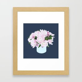 Peonies No.2 Framed Art Print