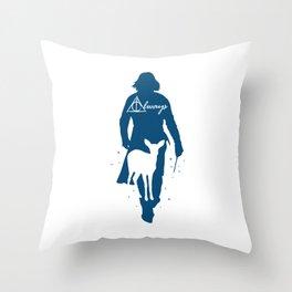 Snape Always Throw Pillow