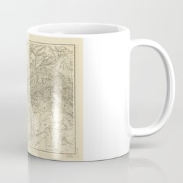Map of Afghanistan (1878) Coffee Mug