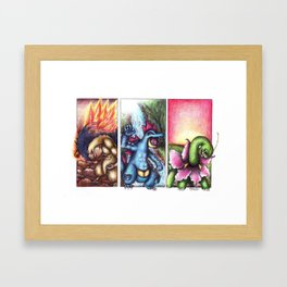 GENERATION II Framed Art Print
