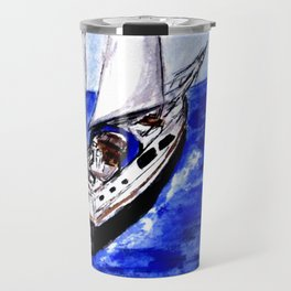 Sailing Away Travel Mug