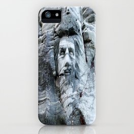 KING ARTHUR CARVING ON ROCK ENGLAND iPhone Case