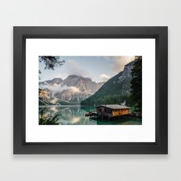 Lakehouse Framed Art Print