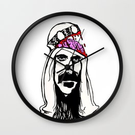 Who Are The Brain Police, Frank Zappa Sheik Yerbouti! Wall Clock