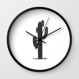 cactus1 Wall Clock