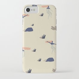Dezert swim iPhone Case
