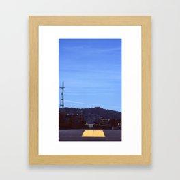 sutro Framed Art Print
