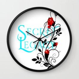 Secret Legacy Rose Wall Clock