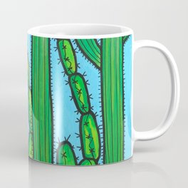 RESIST - armadillo, cactus wren, scorpion on THE WALL Coffee Mug