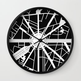 Arc de Triomphe. Paris Wall Clock