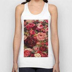 Vintage roses Unisex Tank Top