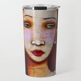 Her Pearls Travel Mug