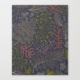 Coral Reef Pattern Canvas Print