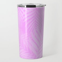 Palm Leaves - Orchid Pink Travel Mug