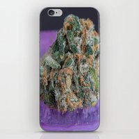 medical iPhone & iPod Skins featuring Jenny's Kush Medical Marijuana by BudProducts.us