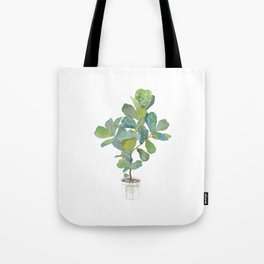 Fiddle Leaf Fig Tree Tote Bag