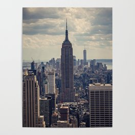 Empire State Building, New York City Poster