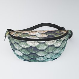 Mermaid Tail Teal Ocean Fanny Pack