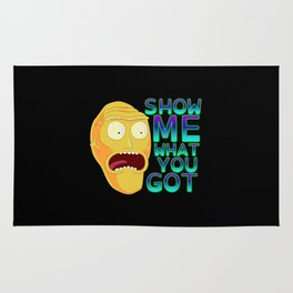 SHOW ME WHAT YOU GOT Rug