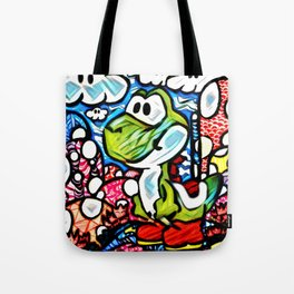 Yoshi Zentangle Tote Bag