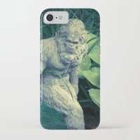 bigfoot iPhone & iPod Cases featuring Bigfoot Sighted by Lyle Hatch