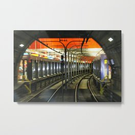 fast as you can Metal Print
