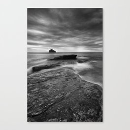 By the Rocky Shore Canvas Print