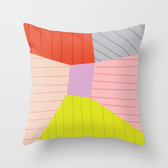 Blok Throw Pillow