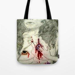 Healing My Amethyst Heart Tote Bag