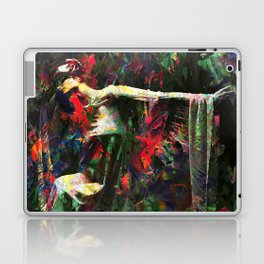 Lady of the Garden Laptop & iPad Skin