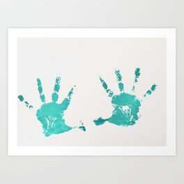 High Five Art Print